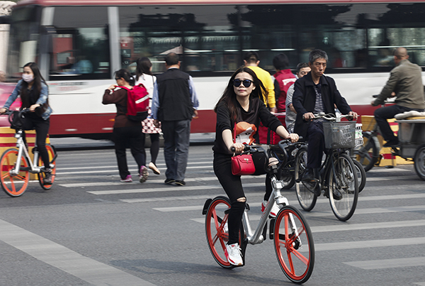 Rental bicycles in Beijing